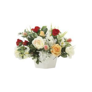 アートフラワー 造花 マルシェ テーブルタイプ/光触媒 観葉植物 フェイクグリーン 花 開店祝い 開業祝い 誕生祝い 造花 おしゃれ|ayuwara