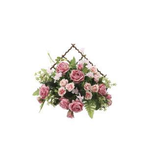 アートフラワー 造花 モネ―ル 壁掛けタイプ/光触媒 観葉植物 フェイクグリーン 花 開店祝い 開業祝い 誕生祝い 造花 おしゃれ|ayuwara