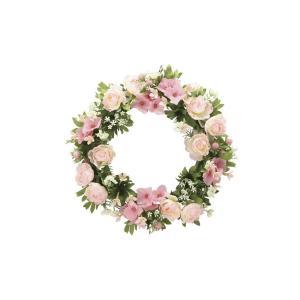 アートフラワー 造花 ロ―ズリ―スP 壁掛けタイプ/光触媒 観葉植物 フェイクグリーン 花 開店祝い 開業祝い 誕生祝い 造花 おしゃれ|ayuwara