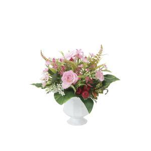 アートフラワー 造花 バンビーナ テーブルタイプ 光触媒 フェイクグリーン 御祝 内装 インテリア|ayuwara