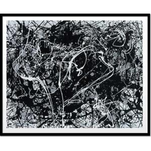 絵画・抽象画/Jackson Pollock Number 33,1949(ジャクソン・ポロック ナンバー33,1949(シルクスクリーン)) ayuwara