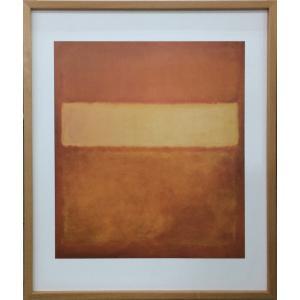アートフレーム Mark Rothko Untitled,No.11/絵画 壁掛け 壁飾り インテリア 油絵 花 アートパネル ポスター 絵 額入り リビング 玄関|ayuwara