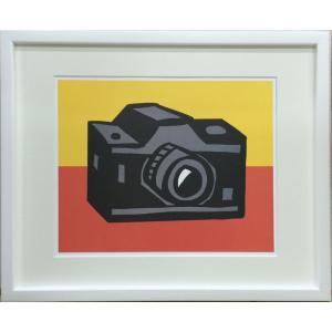 アートフレーム Slaughter Camera/絵画 壁掛け 壁飾り インテリア 油絵 花 アートパネル ポスター 絵 額入り リビング 玄関|ayuwara