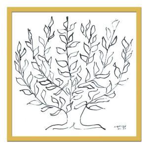 名画・抽象画/Henri Matisse アンリ マティス Le platane, 1951(プラタナス、1951)|ayuwara