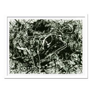 絵画・抽象画/Jackson Pollock ジャクソン ポロック Number 33(ナンバー33) ayuwara