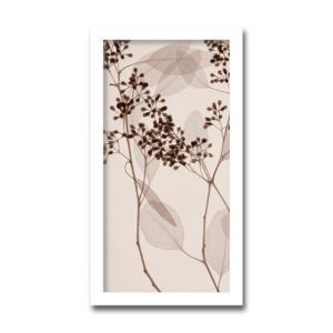 レントゲンアート 絵画/ユーカリ2/絵画 壁掛け 壁飾り インテリア 油絵 花 アートパネル ポスター 絵 額入り リビング 玄関|ayuwara