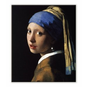 名画キャンバスアート ヨハネス・フェルメール 真珠の耳飾りの少女 (Johannes Vermeer)/絵画 壁掛け 壁飾り インテリア 油絵 花 アートパネル ポスター 絵 ayuwara