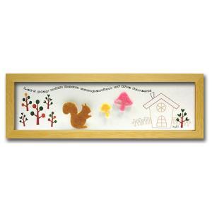 アートフレーム/ゆうパケット アニマル リス/NA/絵画 壁掛け 壁飾り インテリア 油絵 花 アートパネル ポスター 絵 額入り リビング 玄関|ayuwara