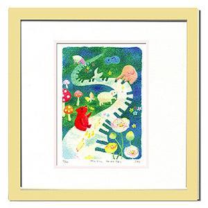 絵画 壁飾り/Ryo Music Garden/絵画 壁掛け 壁飾り インテリア 油絵 花 アートパネル ポスター 絵 額入り リビング 玄関|ayuwara
