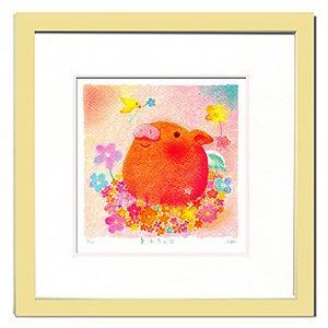 絵画 壁飾り/Ryo 巣立ちの日/絵画 壁掛け 壁飾り インテリア 油絵 花 アートパネル ポスター 絵 額入り リビング 玄関|ayuwara