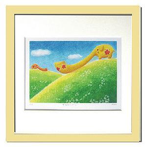 絵画 壁飾り/Ryo やまびこぞう/絵画 壁掛け 壁飾り インテリア 油絵 花 アートパネル ポスター 絵 額入り リビング 玄関|ayuwara