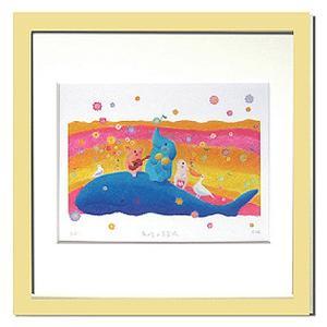 絵画 壁飾り/Ryo 南の島の音楽隊/絵画 壁掛け 壁飾り インテリア 油絵 花 アートパネル ポスター 絵 額入り リビング 玄関|ayuwara