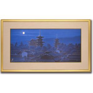絵画/寧楽の幾望/絵画 壁掛け 壁飾り インテリア 油絵 花 アートパネル ポスター 絵 額入り リビング 玄関|ayuwara