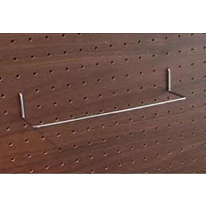 壁掛けボードフレーム用ワイドフック ペグボード パンチングボード 有孔ボード ワイドフック 深さ50mm 幅250mm|ayuwara