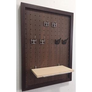 壁掛けボードフレーム用フック ペグボード フック L20mm 2個セット/絵画 壁掛け 壁飾り インテリア 油絵 花 アートパネル ポスター 絵|ayuwara