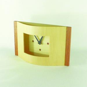 時計 TABLE CLOCK c ナチュラル ヤマト工芸 yamatojapan/ウォールクロック インテリア 壁掛け ギフト プレゼント 新築祝い おしゃれ アート ayuwara