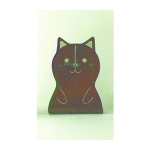 時計 ANIMAL CLOCK 猫 ヤマト工芸 yamatojapan/ウォールクロック インテリア 壁掛け ギフト プレゼント 新築祝い おしゃれ アート|ayuwara