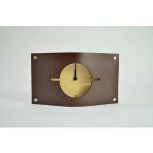 時計 WALL CLOCK S ブラウン ヤマト工芸 yamatojapan/ウォールクロック インテリア 壁掛け ギフト プレゼント 新築祝い おしゃれ アート ayuwara