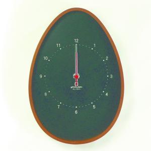 時計 EGG CLOCK 黒色 ヤマト工芸 yamatojapan/ウォールクロック インテリア 壁掛け ギフト プレゼント 新築祝い おしゃれ アート ayuwara
