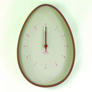 時計 EGG CLOCK アイボリー ヤマト工芸 yamatojapan/ウォールクロック インテリア 壁掛け ギフト プレゼント 新築祝い おしゃれ アート ayuwara