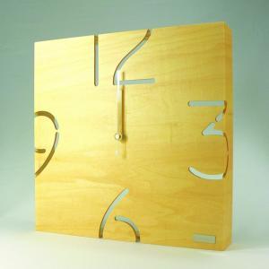 時計 パズル ウォールタイプ クロック W ナチュラル ヤマト工芸/ウォールクロック インテリア 壁掛け ギフト プレゼント 新築祝い おしゃれ アート ayuwara