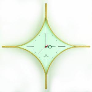 時計 DAIA CLOCK 水色 ヤマト工芸 yamatojapan/ウォールクロック インテリア 壁掛け ギフト プレゼント 新築祝い おしゃれ アート ayuwara