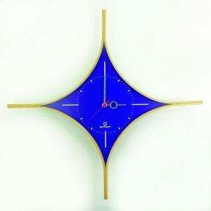 時計 DAIA CLOCK 紫色 ヤマト工芸 yamatojapan/ウォールクロック インテリア 壁掛け ギフト プレゼント 新築祝い おしゃれ アート ayuwara