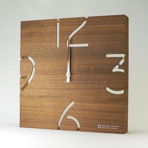 時計 PUZZLE~電波時計 ウォールナット ヤマト工芸 yamatojapan/ウォールクロック インテリア 壁掛け ギフト プレゼント 新築祝い おしゃれ アート ayuwara