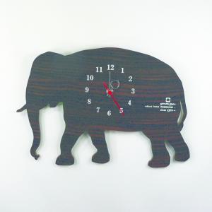 時計 CLOCK SHADOW W ゾウ ヤマト工芸 yamatojapan/ウォールクロック インテリア 壁掛け ギフト プレゼント 新築祝い おしゃれ アート ayuwara