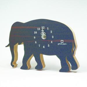 時計 ゆうパケット CLOCK SHADOW S ゾウ ヤマト工芸 yamatojapan/ウォールクロック インテリア 壁掛け ギフト プレゼント 新築祝い おしゃれ アート ayuwara