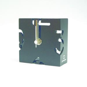 時計 CLOCK PUZZLE-MINI 黒色 ヤマト工芸 yamatojapan/ウォールクロック インテリア 壁掛け ギフト プレゼント 新築祝い おしゃれ アート|ayuwara