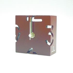 時計 CLOCK PUZZLE-MINI 茶色 ヤマト工芸 yamatojapan/ウォールクロック インテリア 壁掛け ギフト プレゼント 新築祝い おしゃれ アート|ayuwara