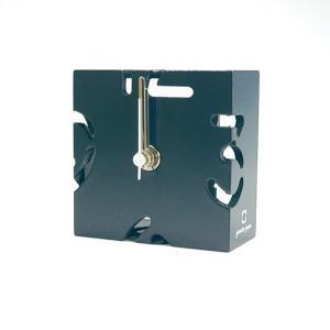 時計 CLOCK PUZZLE-MINI 紺色 ヤマト工芸 yamatojapan/ウォールクロック インテリア 壁掛け ギフト プレゼント 新築祝い おしゃれ アート|ayuwara