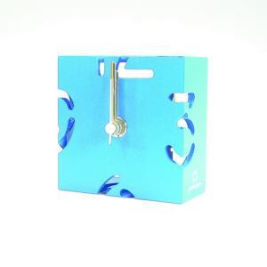 時計 CLOCK PUZZLE-MINI 水色 ヤマト工芸 yamatojapan/ウォールクロック インテリア 壁掛け ギフト プレゼント 新築祝い おしゃれ アート|ayuwara