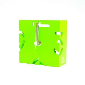 時計 CLOCK PUZZLE-MINI 黄緑色 ヤマト工芸 yamatojapan/ウォールクロック インテリア 壁掛け ギフト プレゼント 新築祝い おしゃれ アート|ayuwara