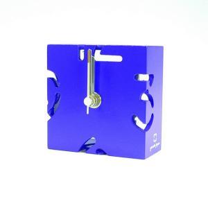 時計 CLOCK PUZZLE-MINI 紫色 ヤマト工芸 yamatojapan/ウォールクロック インテリア 壁掛け ギフト プレゼント 新築祝い おしゃれ アート|ayuwara