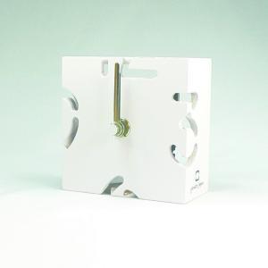 時計 CLOCK PUZZLE-MINI パープルホワイト ヤマト工芸/ウォールクロック インテリア 壁掛け ギフト プレゼント 新築祝い おしゃれ アート|ayuwara