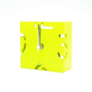 時計 CLOCK PUZZLE-MINI 黄色 ヤマト工芸 yamatojapan/ウォールクロック インテリア 壁掛け ギフト プレゼント 新築祝い おしゃれ アート|ayuwara