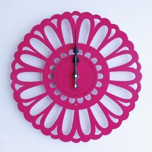 時計 Marguerite CLOCK ピンク色 ヤマト工芸 yamatojapan/ウォールクロック インテリア 壁掛け ギフト プレゼント 新築祝い おしゃれ アート|ayuwara
