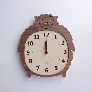 時計 Clock Zoo ヒツジ ヤマト工芸 yamatojapan/ウォールクロック インテリア 壁掛け ギフト プレゼント 新築祝い おしゃれ アート ayuwara