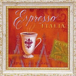 ゆうパケット ミニ ゲル アートフレーム アンジェラ スターリング 「エスプレッソ・イタリア」|ayuwara