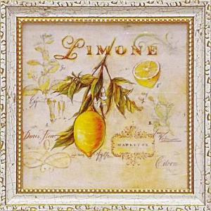 ミニゲル アートフレーム ゆうパケット アンジェラ スターリング 「トスカーナのレモン」|ayuwara