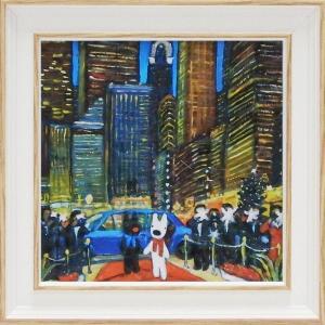 アートフレーム/ゆうパケット リサとガスパール「ニューヨークの夕べ」Sサイズ|ayuwara