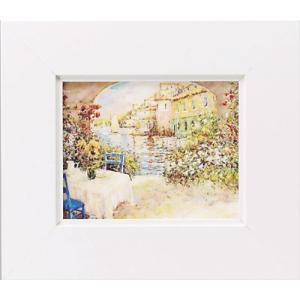 絵画/ゆうパケット マルコ マヴロヴィッチ 幸せな朝/絵画 壁掛け 壁飾り インテリア 油絵 花 アートパネル ポスター 絵 額入り リビング 玄関 ayuwara