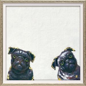 【絵画 油絵】オイル ペイント アート「ワンダ(Sサイズ)」|ayuwara