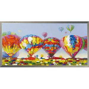 絵画/アート エアバルーン/絵画 壁掛け 壁飾り インテリア 油絵 花 アートパネル ポスター 絵 額入り リビング 玄関|ayuwara