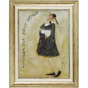 絵画/サム トフト 初めてのダンスを覚えてます/絵画 壁掛け 壁飾り インテリア 油絵 花 アートパネル ポスター 絵 額入り リビング 玄関 ayuwara