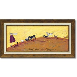 絵画 サム トフト「幸せへ向かって」 インテリア 壁掛け 絵 飾る 風景 額入り おしゃれ リビング...
