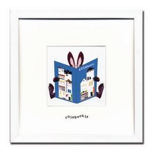 アートフレーム Colobockle16(コロボックル) ゆうパケット /絵画 壁掛け 壁飾り インテリア|ayuwara