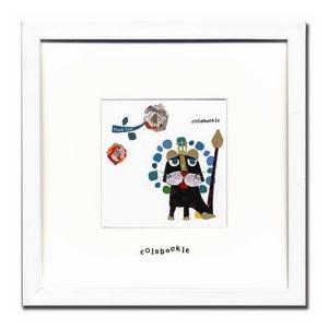 アートフレーム Colobockle18(コロボックル) ゆうパケット /絵画 壁掛け 壁飾り インテリア|ayuwara